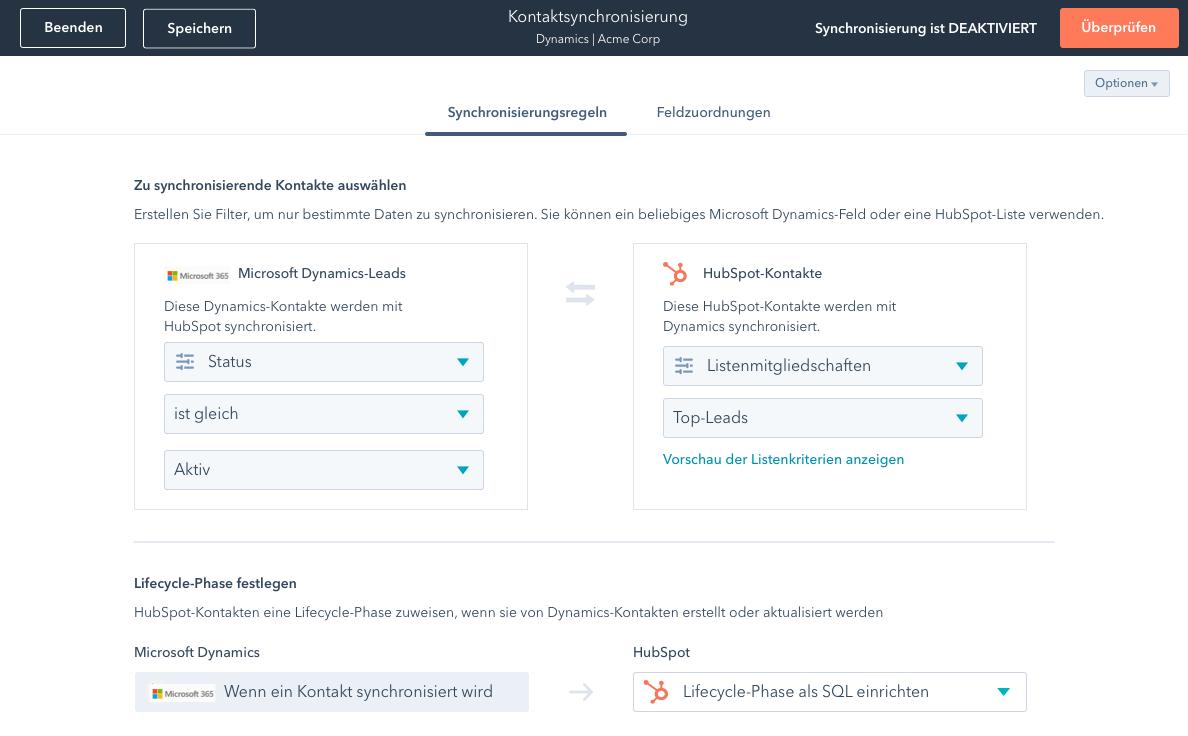 screenshot operations hub sync