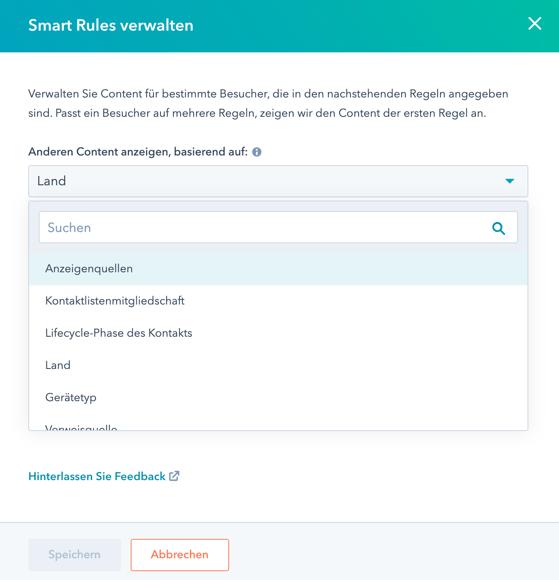 smart rules Hubspot 1
