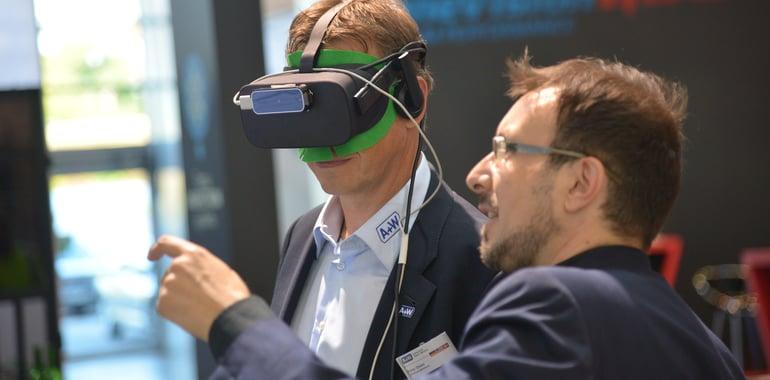 Neue Leads mit Virtual Reality für B2B: VR Messe-Spiel & VR Konfigurator