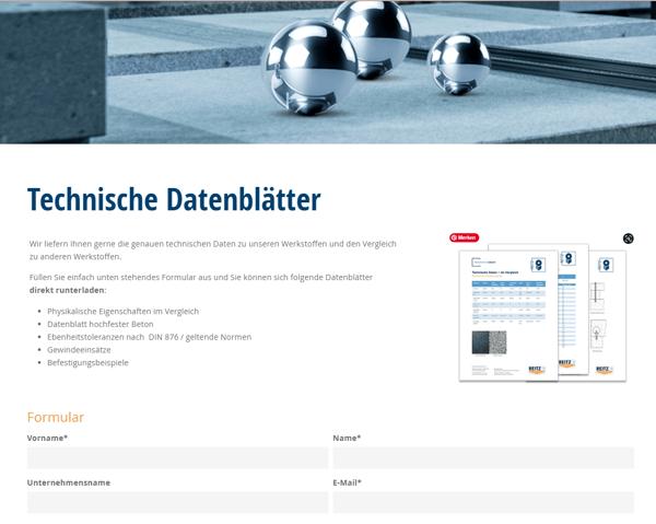reitz-natursteintechnik-technische-datenblätter-landingpage