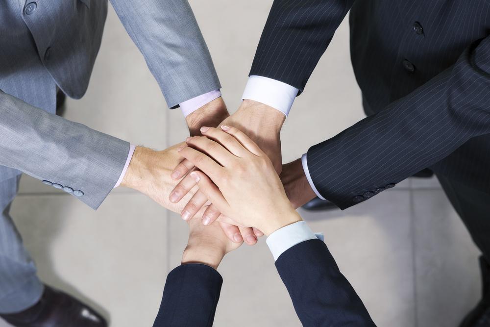 Geschäftsleute Gruppe