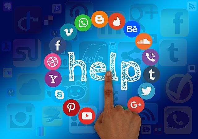 Darstellung einiger Social-Media-Plattformen